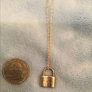 Tiffany locket, lock, authentic, EUC, see pics